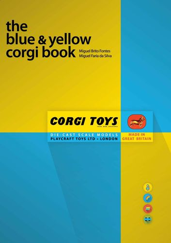 The blue and yellow corgi book